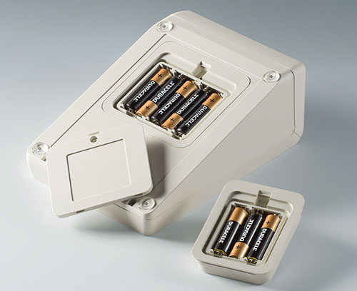 Battery compartment kits AA in different versions