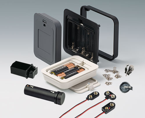 Battery holders and contacts