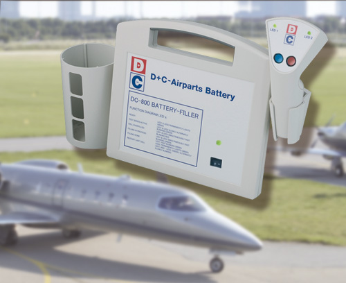Battery filler for aviation batteries