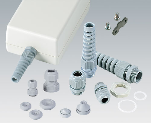 Cable glands, cable grommets