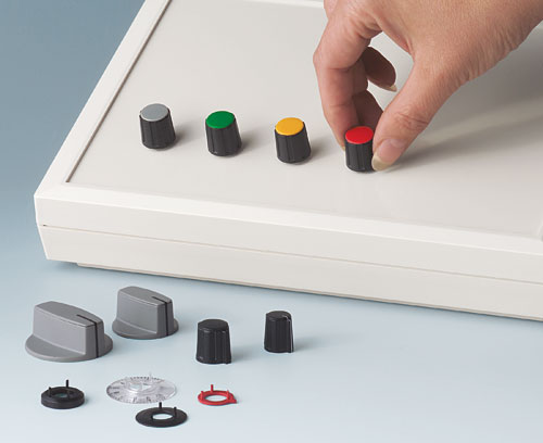 Collet knobs in different designs