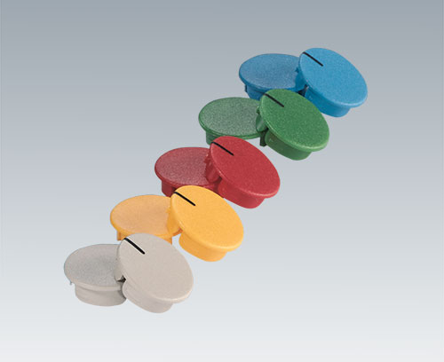 Covers for round knobs and wing knobs