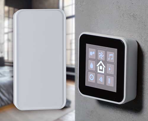 SMART-PANEL - elegant wall-mounted enclosure for modern control units