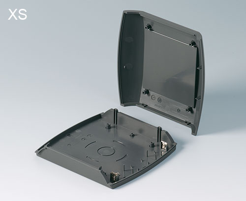 DIATEC XS: two-piece case design; battery clips as accessory