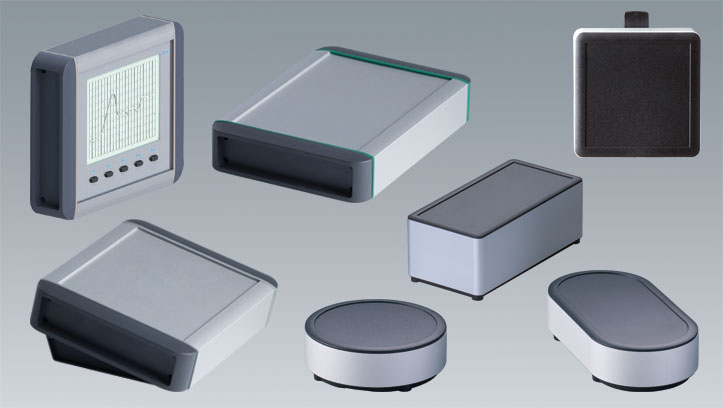 Extruded aluminium enclosures OKW