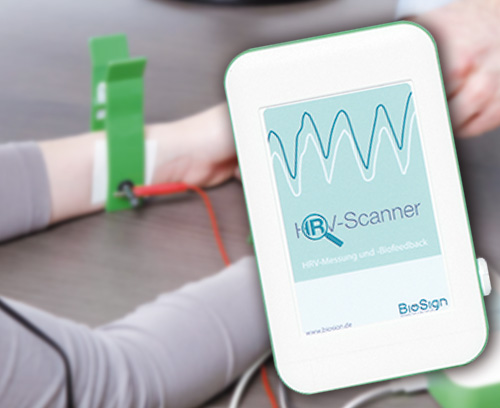HRV scanner for analysing the autonomic nervous system