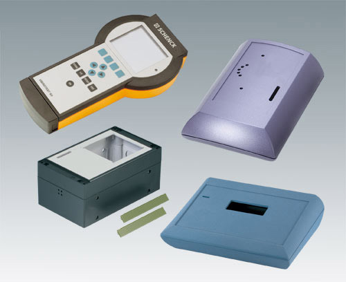 Enclosures with high-quality lacquers