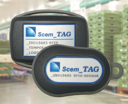 RFID sensor transponder and data logger