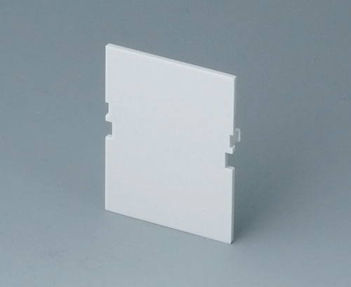 B6601180 Front panel, 2 modules, Vers. VI