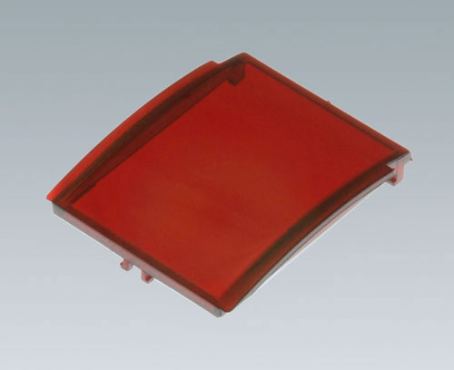 B6801301 Front lid convex without hinge, 2 modules