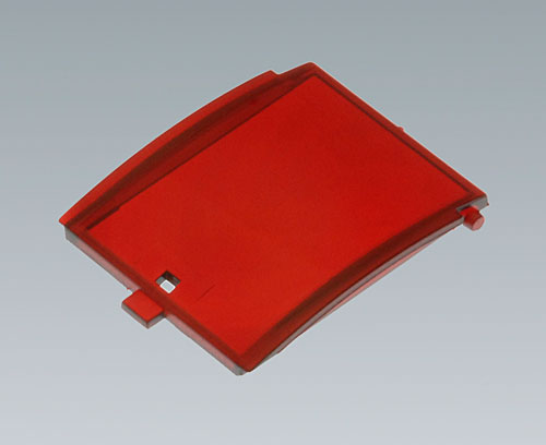 B6801302 Front lid convex with hinge, 2 modules