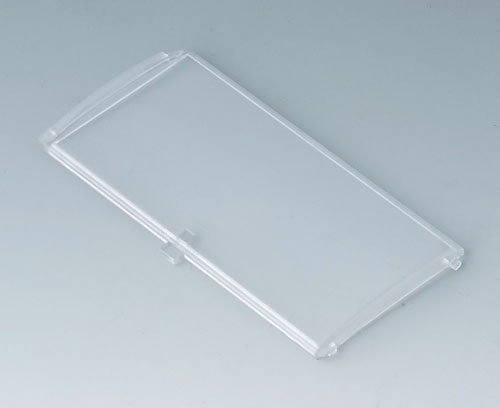 B6804202 Front lid convex with hinge, 5 modules