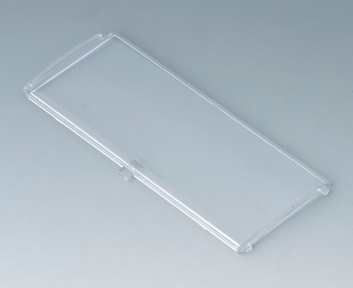 B6805202 Front lid convex with hinge, 6 modules