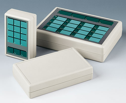 Top recess for a membrane keypad (type G)