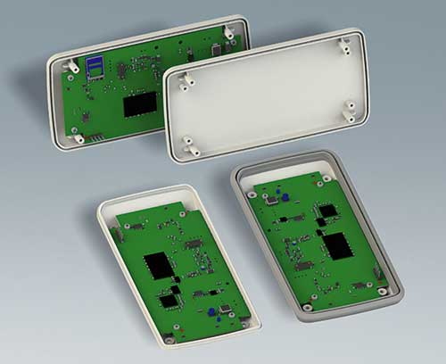 PCB mounting in top and bottom part