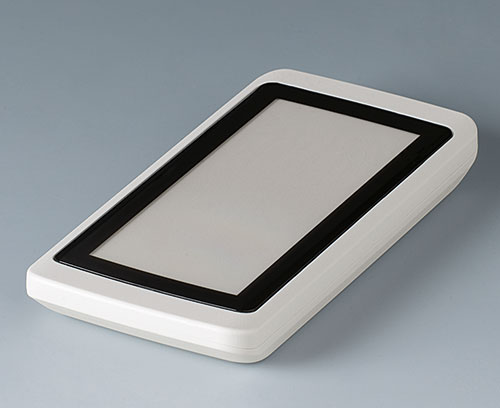 The contoured front screen (accessory) with individual printing on demand