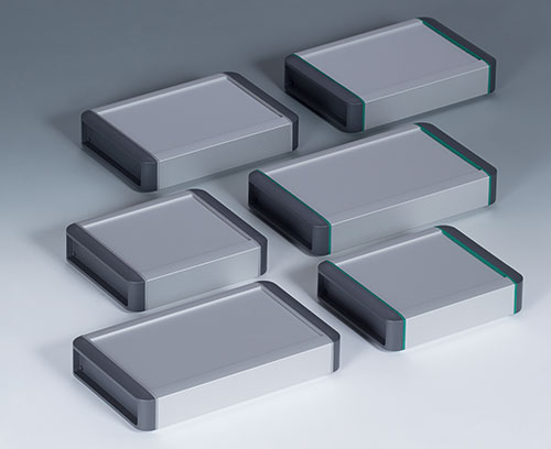 3 basic enclosures in two colour combinations; special profile lengths and versions on demand