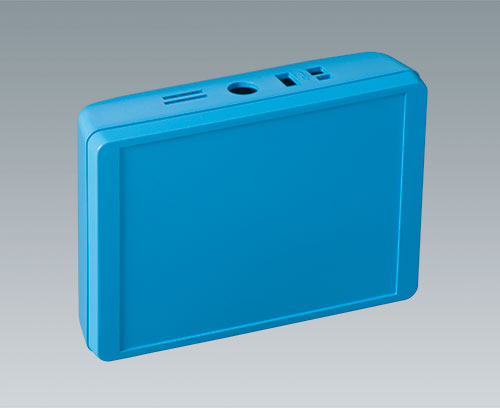 INTERFACE-TERMINAL enclosure made in colour blue